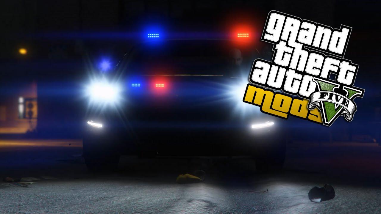 Police Led Lights >> LED Corona - GTA 5 PC Mod - YouTube