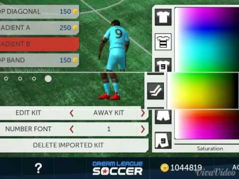 New kit barcelona 2016 dream lague soccer 512x512 - YouTube