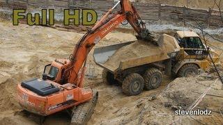 Excavator ☆ Koparki ☆ Buldożery ☆ Walce ☆ Ładowarki ☆ รถขุด ☆ Maszyny Budowlane
