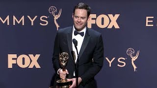 Bill Hader - Barry | Emmys 2019 Full Backstage Interview