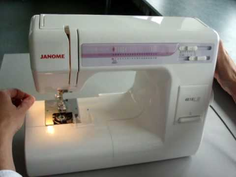 time2do janome 4618 bobbin insertion and its thread pick up youtube rh youtube com Janome Sewing Machine History Janome Sewing Machine History