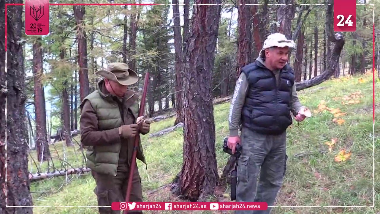 بوتين يحتفل بيوم ميلاده وسط الطبيعة في سيبيريا