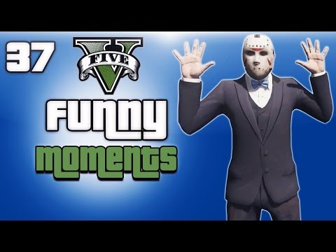 GTA 5 Online Funny Moments Ep. 37 (High...
