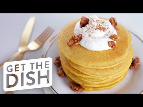 Easy Pumpkin Spice Pancakes Recipe | Get the Dish