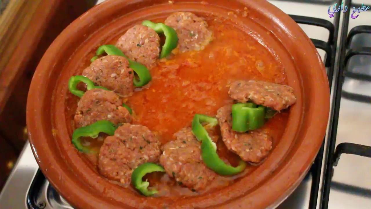 وجبة سهلة و سريعة تحضر في 10 دقائق لفطور أو عشاء رمضان   طاجين بالكفتة لن تستغني عنه بعد اليوم