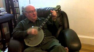 """Go Back Where You Stayed Last Night""(Ethel Waters)-Eddy Davis Tenor Banjo"