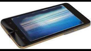 Contoh layar android bergaris/rusak
