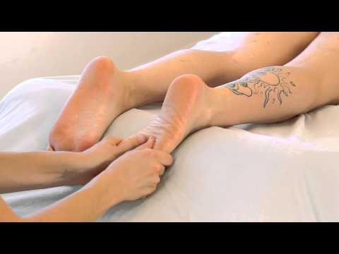 ASMR Foot Massage; Swedish Massage Therapy Techniques For Feet; Full Body Massage Series Part 3