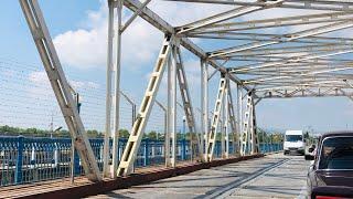 #Баку#Российско-азербайджанская граница на авто#Переход пешком#Золотой Мост#