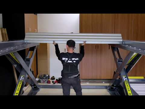 Awesome Autostacker Home Car Lift Install