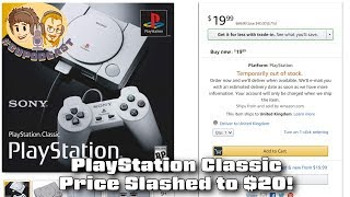 PlayStation Classic Price Slashed to $20