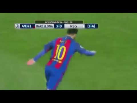Barcelona vs psg 6-1 uefa champions league: all goals & highlights