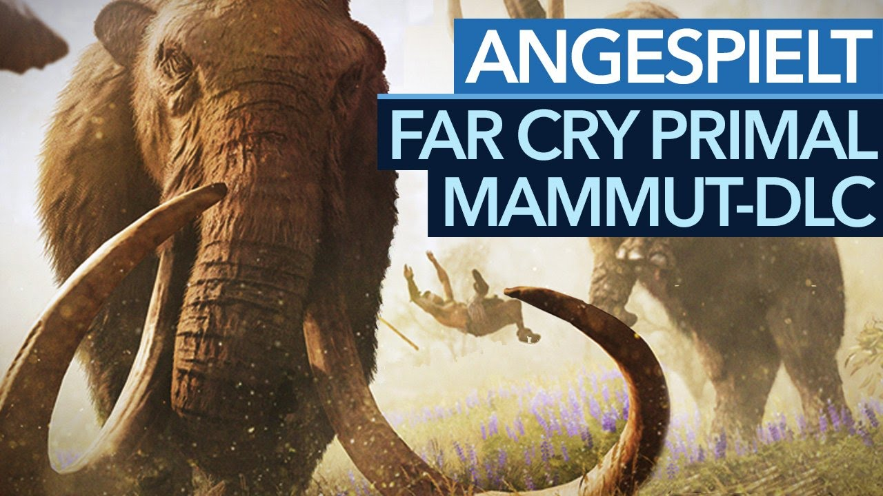Far Cry Primal Die Legende Des Mammuts Im Dlc Check Youtube