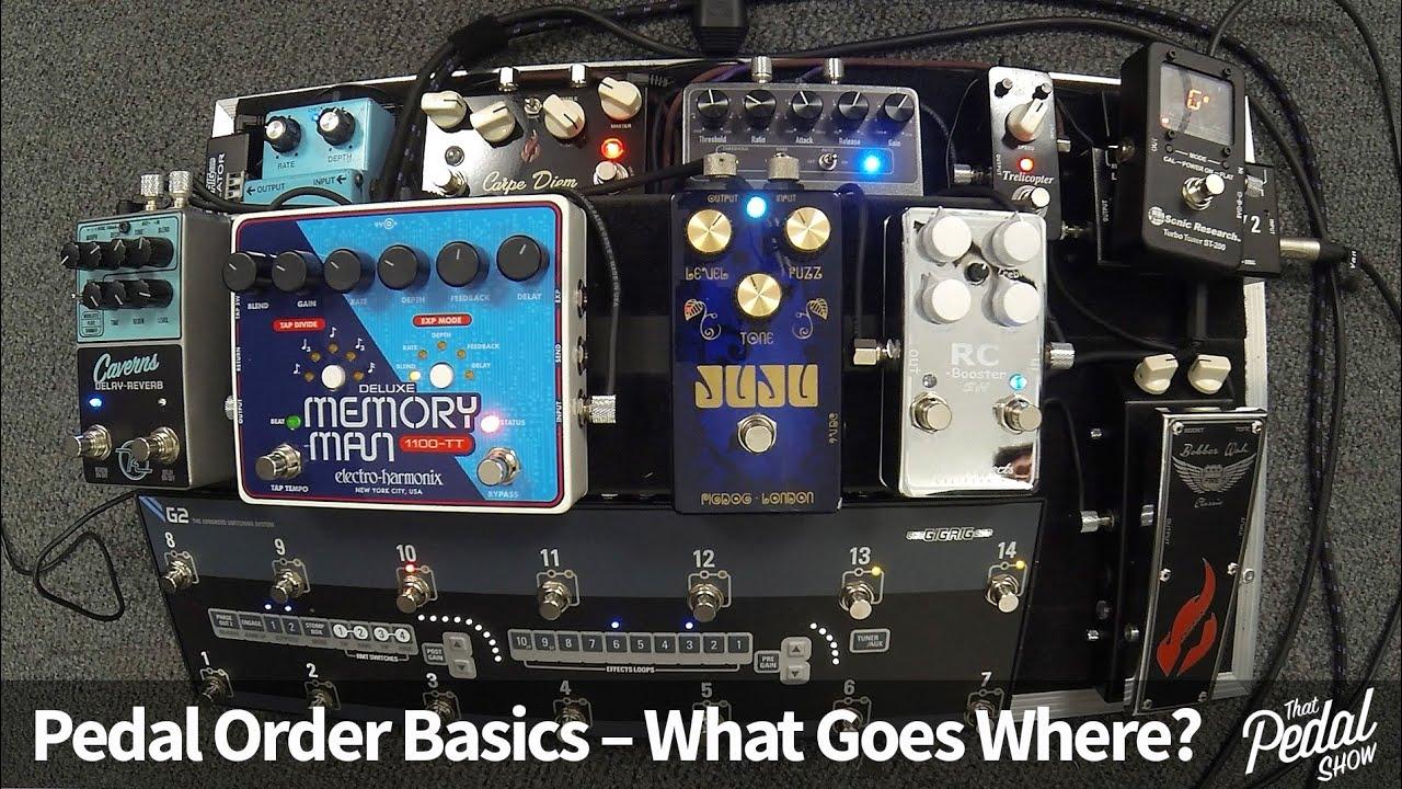 Guitar 101: Pedalboard Order, Power Supplies, & Accessories