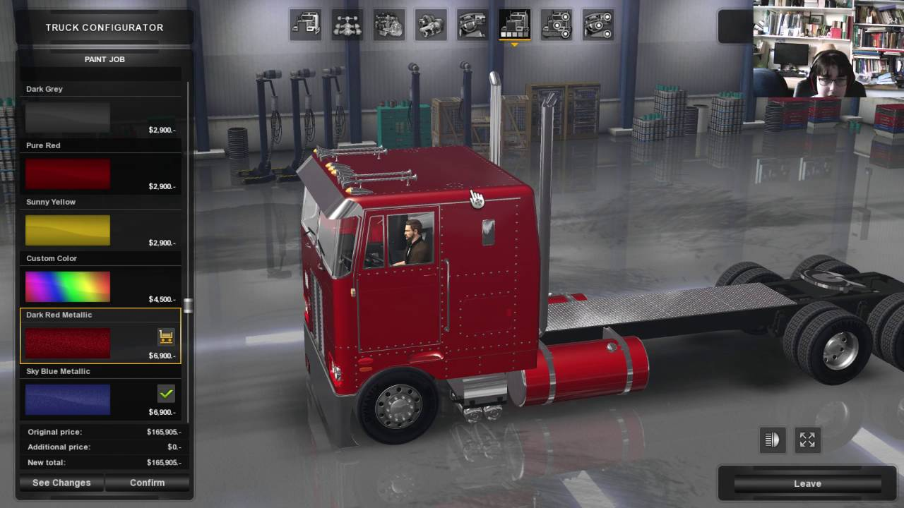American Truck Simulator Look At Peterbilt 352 Youtube