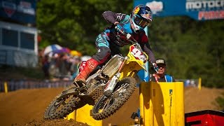 A Perfect Day with Ken Roczen at the AMA Pro Motocross Nationals  Moto Spy Ep 7