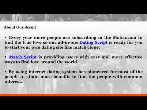Match Script, Dating Clone, Dating   Script, Dating Website Script, Dating Software