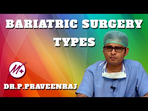 Types of Bariatric Surgery – Gastric Bypass & Sleeve Gastrectomy
