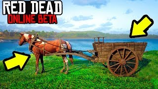 THIS CART CAN MAKE YOU $1000 in Red Dead Online! Easy Money Making in Red Dead Online! you 検索動画 11