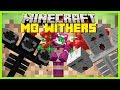 Minecraft - MO'S WITHER MOD (GIRL WITHER, ELEMENTAL WITHERS AND CRAZY VOID WITHER!!!)