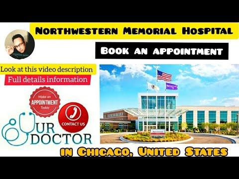 Northwestern Memorial Hospital In Chicago,USA.