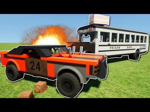 CRAZY LEGO DERBY! - Brick Rigs Multiplayer Gameplay - Lego Jumps Race & Demo Derby