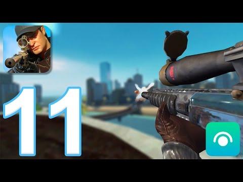 Sniper 3D Assassin: Shoot to Kill - Gameplay Walkthrough Part 11 - Region 4 (iOS, Android)