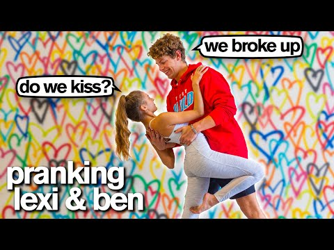 KISSING ex-BOYFRIEND PRANK *Bad Idea* (Lexi Rivera & Ben Azelart)