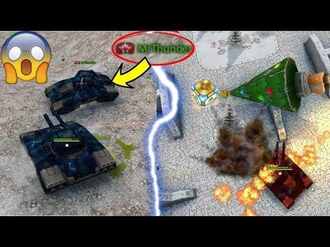 Tanki Online -  2 JUGGERNAUT In 1 Battle?! (NO CLICKBAIT) + Christmas Gold Box Montage + Gold Skills