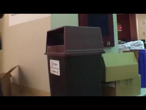 Facebook Live: RNC Garbage Can