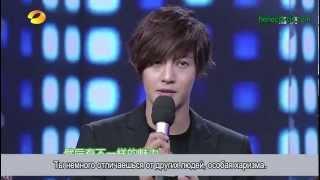 20121117 Ким Хён Чжун на шоу Happy Camp (рус. суб)