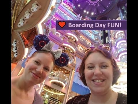 Cabin & Lunch ~ Day 1 Royal Caribbean Brilliance of the Seas Cruise Vlog [ep2]