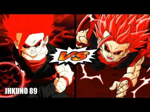 NEW DEVIL GOHAN SSJ 2 TEAM vs OLD DEVIL GOHAN SSJ 2 TEAM | DRAGON BALL Z BUDOKAI TENKAICHI 3