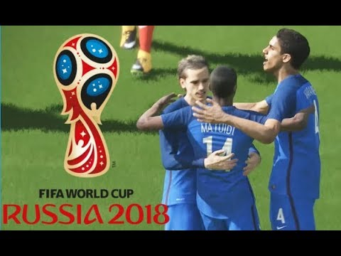 France Vs Danemark Coupe Du Monde 2018 Russie #03 Match De Poule PES 18