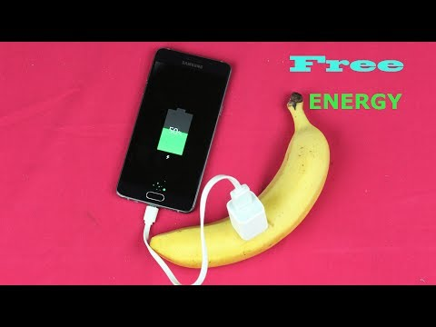 How To Charge Phone With Banana