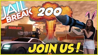 🔴 Roblox Live Stream!!   Jailbreak, Phantom Forces and more!   ROAD TO 10K !   #200