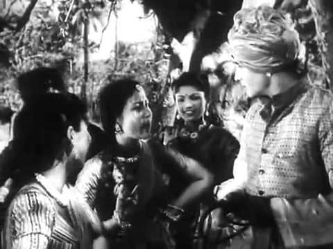 """"""" Madhosh"""" (1951) Shamshad Begum  Pagdi Pahan Ke Turredaar Akdta Kyon Hai"""