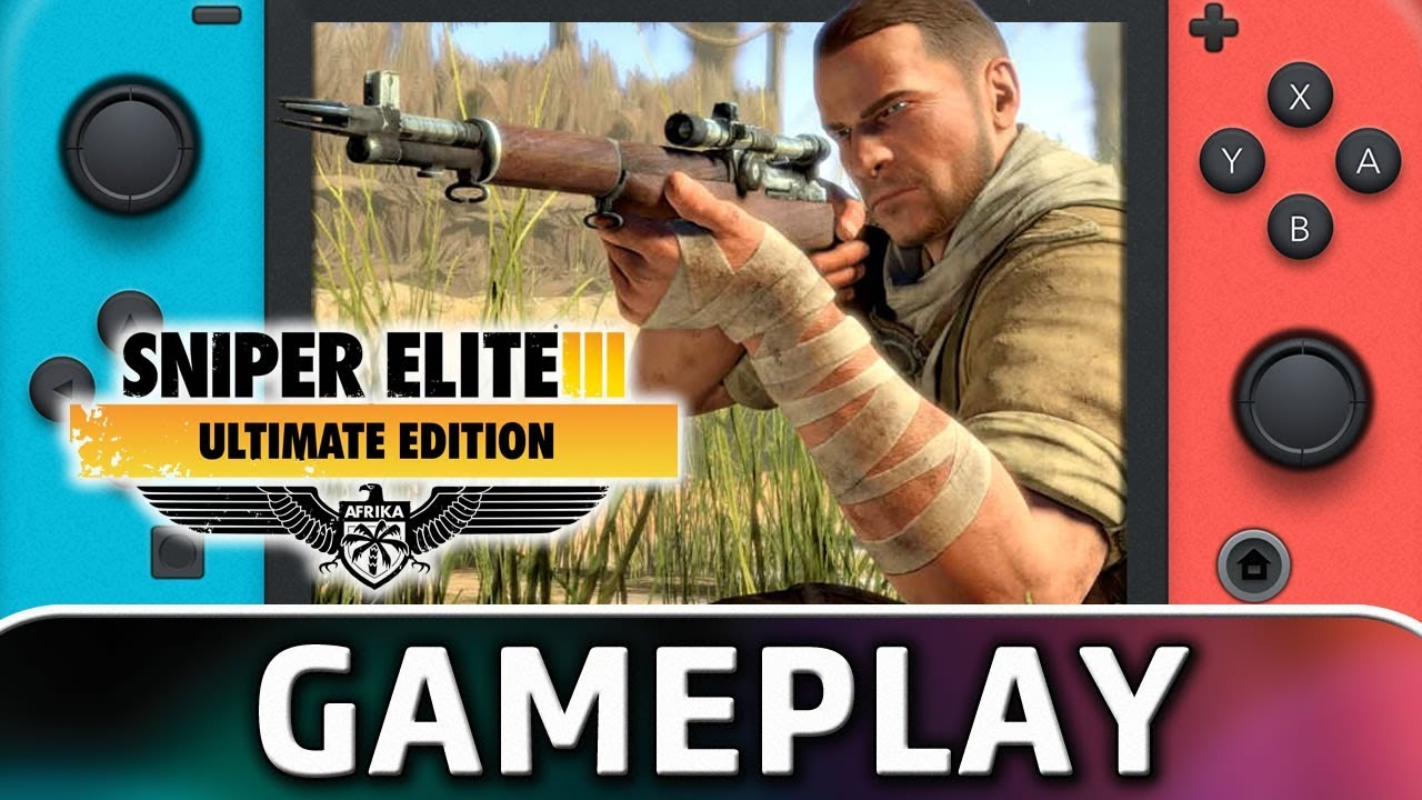 Sniper Elite 3 Ultimate Edition | First 10 Minutes on Nintendo Switch