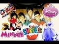 Kinder Surprise Eggs One Direction Egg Surprise Minnie Mouse Surprise And Disney Princess Surprise