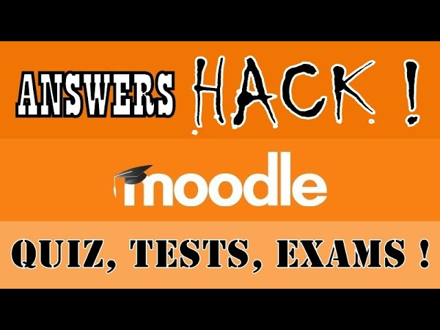 How To Hack Moodle Quiz Tests Exams And Find All Kinds Of Answers Including Subjective Online Trick Youtube