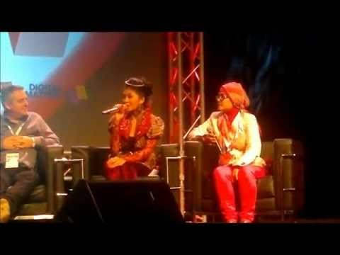 Indah Dewi Pertiwi's Panel Discussion @ Music Matters 2012
