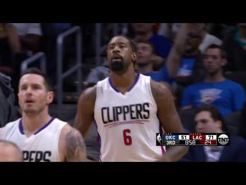 Clippers vs. Thunder Full Highlights | 1/16/17