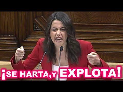 Inés ARRIMADAS SE HARTA de los ABUSOS de los SEPARATISTAS y EXPLOTA contra Quim TORRA thumbnail