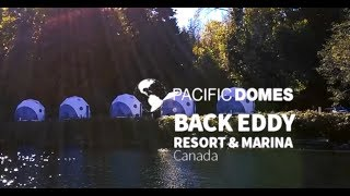 Pacific Domes Glamping Domes, Eco Tourism, BC, Canada - VIDEO