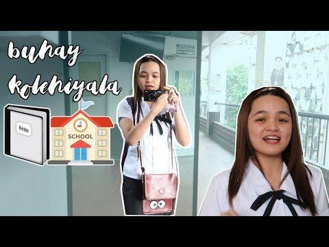NAGVLOG AKO SA SCHOOL + KUMAIN SA JAPANESE RESTO!  Monica Garcia Vlogs ♡