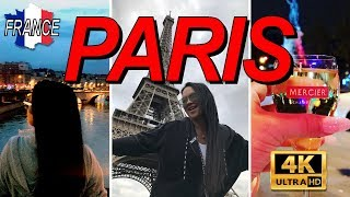 Paris in 4K - My Favorite City On Earth! Paris Restaurants You Must Try! Euro Disney