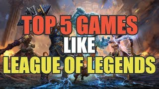 Top 5 Best MOBAs For Android and IOS | MOBAs Like League of Legends | Gameplay
