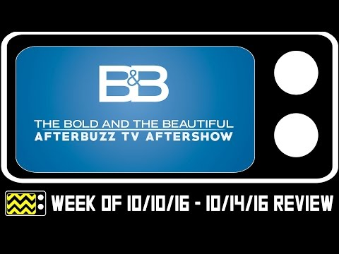 Bold & The Beautiful for October 10th  14th, 2016  w Lawrence St. Victor  AfterBuzz TV