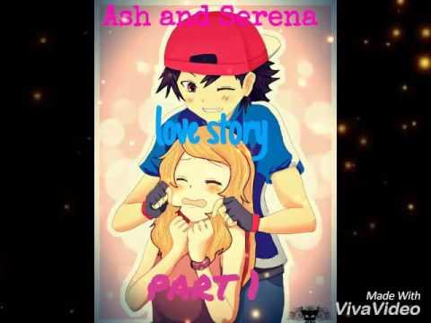 Ash And Serena Love Story Part 1