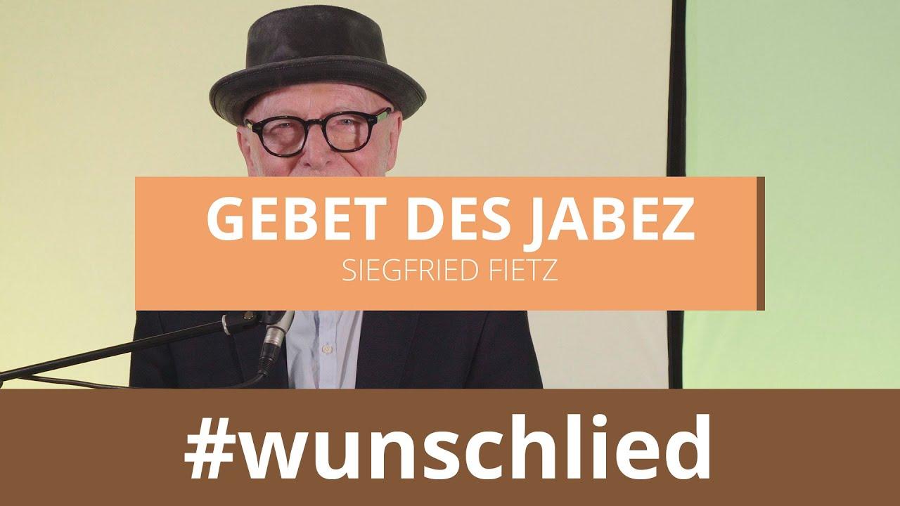Siegfried Fietz singt 'Gebet des Jabez' #wunschlied